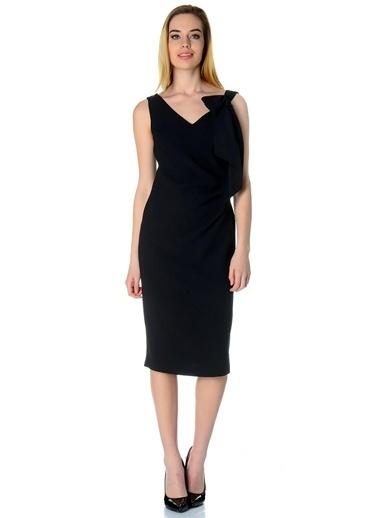 Cotton Bar Abiye Kıyafet Siyah